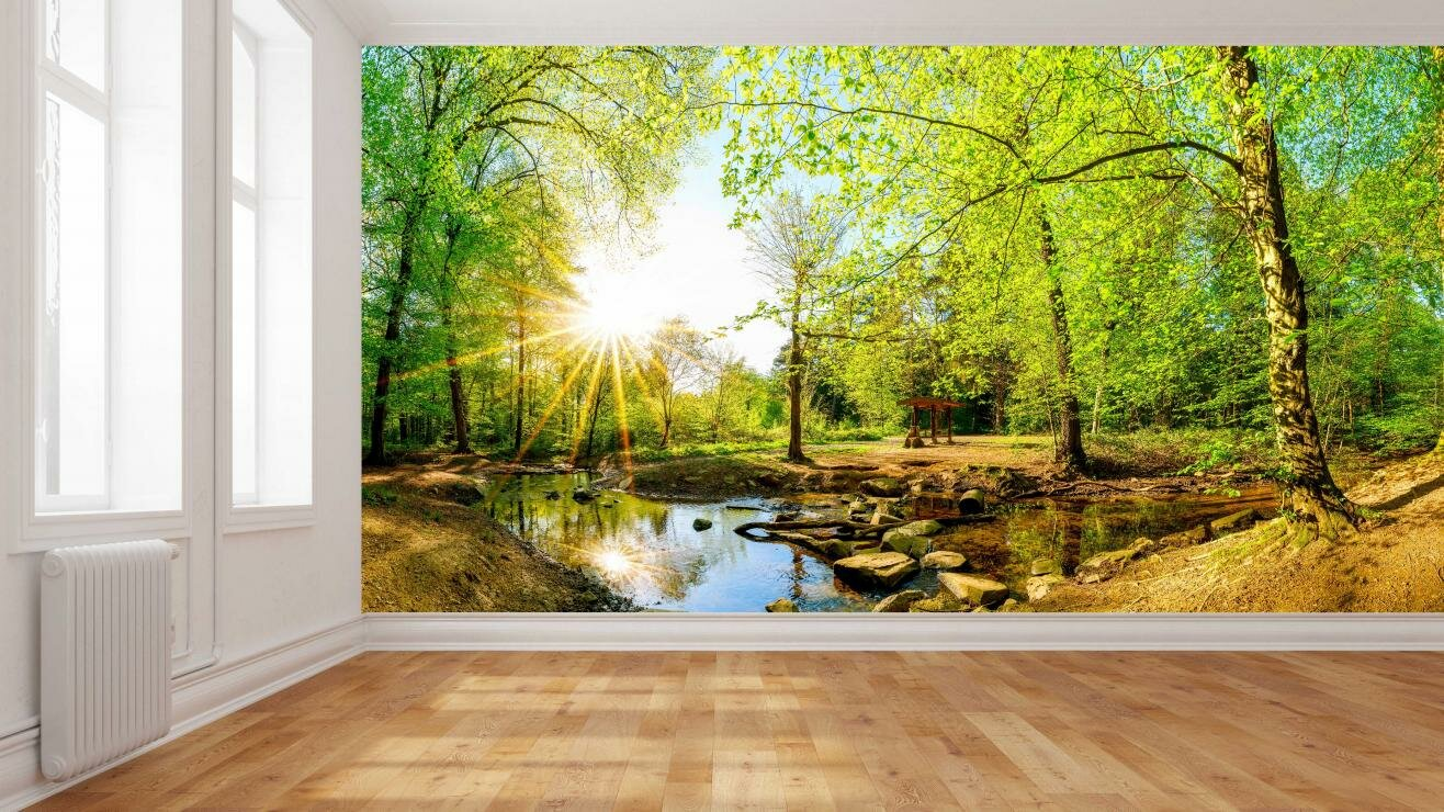Digital Wallpaper and Wall Coverings - Create A Wall